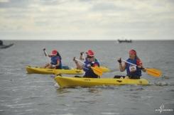 Raid Amazones Cambodge - J2 Canoe